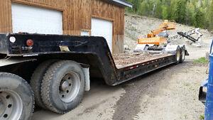 Brentwood lowbed trailer