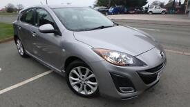 2010 Mazda 3 1.6 Takuya 5 door silver only 23603 miles shrewsbury
