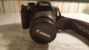 Canon EOS Rebel XS + Battery Grip + Bag + Extra Battery