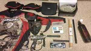 Paintball equipment, paintball marker /gun