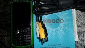 LG cell phone on koodo with 4 cases $30. Prince George British Columbia image 2