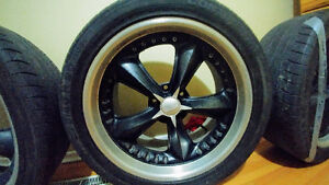 "20"" FOOSE wheels.   425 $ all.         5x114"