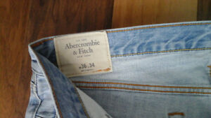 New MEN'S JEANS ABERCROMBIE & FITCH, SIMONS pants 36x34 2for$30