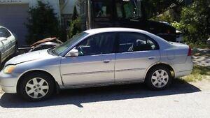 2001-2002 Honda Civic Sedan