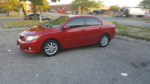 2009 TOYOTA COROLLA LE LOW KM !!! SAFETY AND E-TEST!!