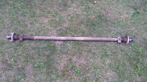 4 Bolt snowmoblie trailer axle Peterborough Peterborough Area image 2