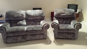 Reclining Love Seat and Chair London Ontario image 1