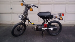 Yamaha QT50 scooter ~~~ Street legal ~~~ Mint Condition
