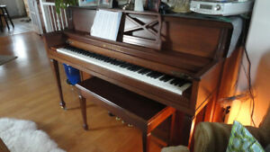 LESAGE PIANO AND BENCH