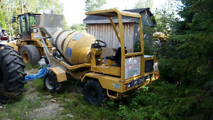 2005 Carmix One, self loading concrete mixer 4x4 very low hours