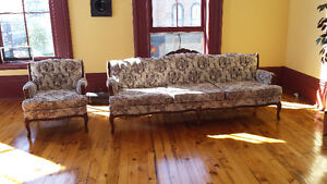 Victorian couch and chair Peterborough Peterborough Area image 1