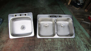 stainless steel sinks and fittings