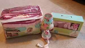 Baby girls nursery set