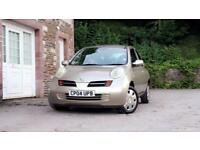 Nissan Micra 1.2 16v automatic 3dr