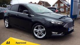 2017 Ford Focus 1.5 TDCi 120 Titanium Powershi Automatic Diesel Hatchback