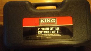 "For Sale, Brand New King 5"" Double Cut Saw"
