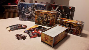 Resident Evil Deck building + Ext , Boardgame/Jeux de Table