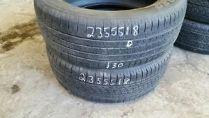 Pair of 2 Toyo Open Country 235/55R18 tires (50% tread life)