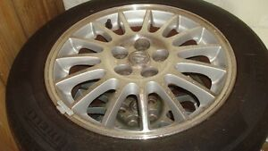 16 in Mags/Rims with summer tires West Island Greater Montréal image 1