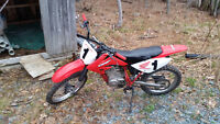 2007 Honda CRF 100 with papers
