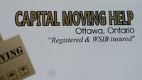 CAPITAL MOVING HELP 613 315 1784. MOVING & DELIVERIES.