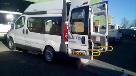 2010 Renault Trafic 2.0dCi Wheelchair Access Vehicle SWB Hightop Minibus
