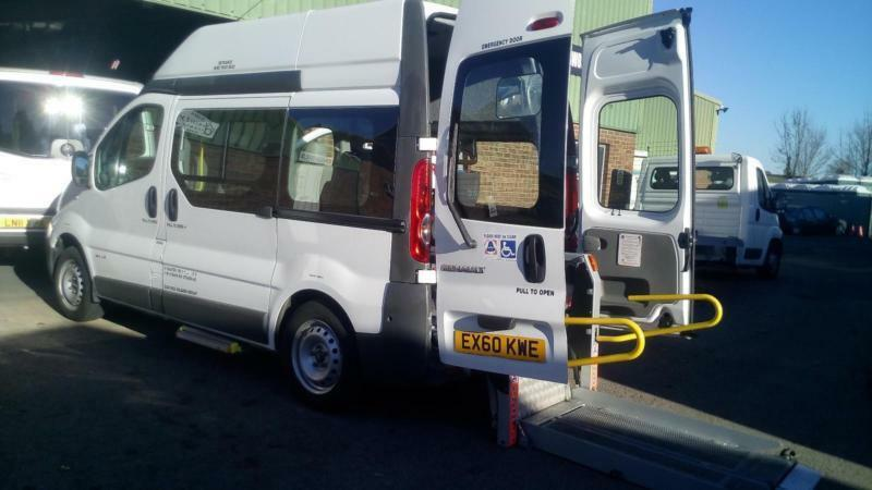 2010 Renault Trafic 2.0dCi Wheelchair Access Vehicle SWB Hightop Minibus