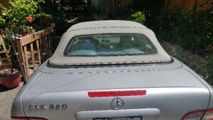 Mercedes clk cabriolet 2001