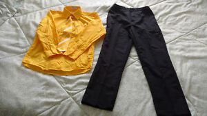 Size 10 boy's dress shirt with tie, hanky and pants for sale St. John's Newfoundland image 2