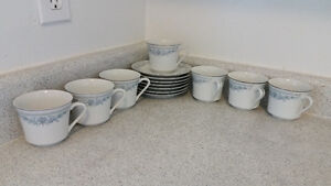 new cups and saucers