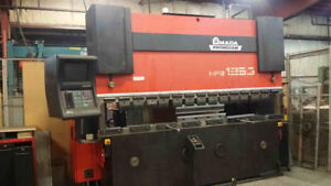 125 Ton Amada HFBO125 Hydraulic CNC Brake Press