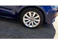 2014 Audi A1 1.6 TDI Sport in Scuba Blue Me Manual Diesel Hatchback