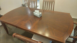 Thebrick dining table and chairs