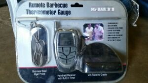 Brand New Remote BBQ Thermometer Gauge