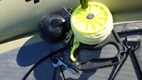 Lost Downrigger Weight & Dive Reel Anchor Rig
