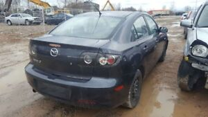2008 MAZDA 3  JUST IN FOR PARTS AT PIC N SAVE! WELLAND