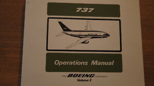 Boeing 737 Operations Manual West Island Greater Montréal image 4