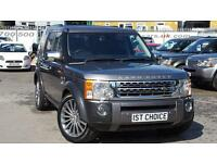 2008 LAND ROVER DISCOVERY 3 TDV6 HSE STORNAWAY GREY CHROME PACK OPTION ON NE
