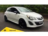 2013 Vauxhall Corsa 1.2 Limited Edition 3dr Manual Petrol Hatchback