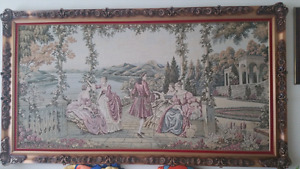 Tapestry framed