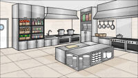 Would you like to share in a common Commercial Kitchen?