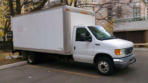 2004 Ford ECO box truck for sale!