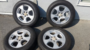 Rims and Touring Tires (5x100 Bolt Pattern - Subaru/other - $450