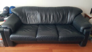 3 Seaters Leather Sofa