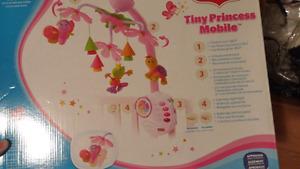 tiny princess crib mobile