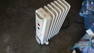 Oil-Filled Radiator Space Heater