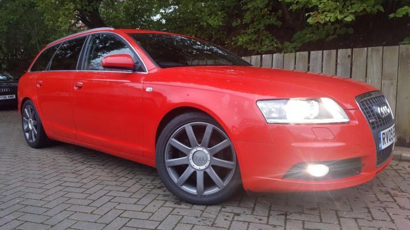 2009 09 Audi A6 Avant 2.0 TDI S Line Auto Avant Estate 1 Prev Owner FSH Sat Nav