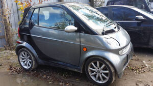 2005 Smart Fortwo Convertible-cert and etested