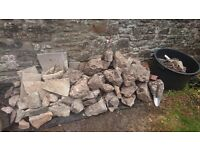 Rockery and rubble for FREE