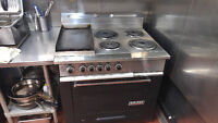Commercial Grade Oven/Stove - Garland